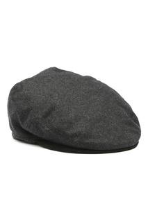 Темно-серая кепка из шерсти Lardini