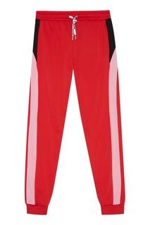 Красные спортивные брюки Msgm