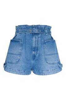 Джинсовые шорты с поясом Isabel Marant