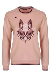 Розовый свитшот с вышивкой Bosco Fresh