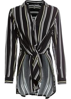 Блузки с длинным рукавом Блузка ассиметричная Bonprix