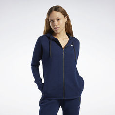 Худи United by Fitness Doubleknit Full-Zip Reebok
