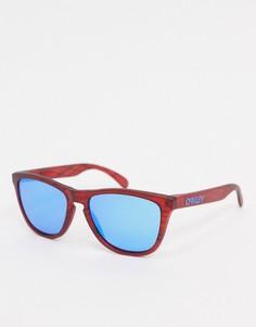 Солнцезащитные очки в квадратной оправе Oakley-Красный