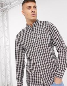 Рубашка в клетку с длинными рукавами Levis-Черный