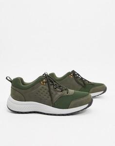 Походные кроссовки цвета хаки Rule London-Зеленый