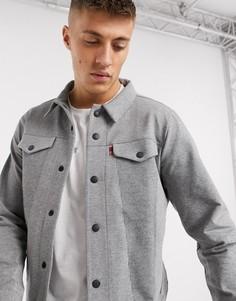 Джинсовая куртка Levis-Серый