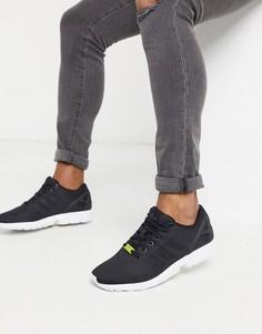 Черные кроссовки adidas Originals ZX Flux-Черный