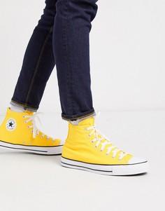 Оранжевые кроссовки Converse Chuck Taylor All Star-Оранжевый