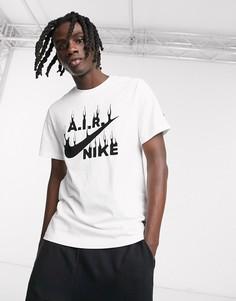 Белая футболка с логотипом Nike Lugosis Artist Pack-Белый