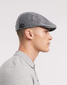 Серая плоская кепка Ted Baker-Серый