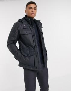 Куртка с карманами BOSS-Синий