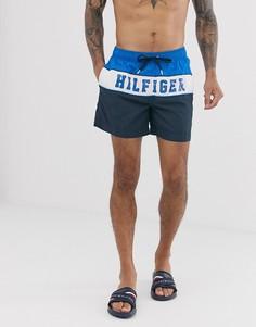 Шорты для плавания с логотипом Tommy Hilfiger-Синий