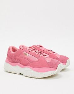 Розовые кроссовки Puma STORM.Y-Розовый