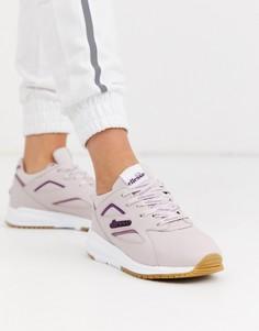 Кожаные фиолетовые кроссовки Ellesse-Фиолетовый