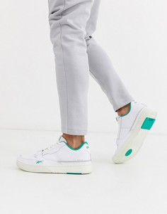 Белые кроссовки Reebok Dualcourt-Белый