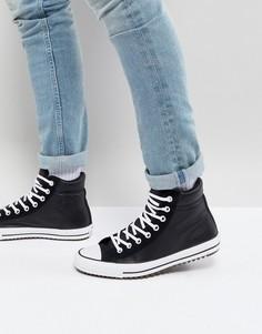 Черные высокие кроссовки Converse Chuck Taylor All Star 157496C001-Черный