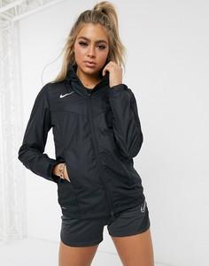 Черная куртка-дождевик Nike Football-Черный