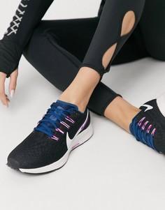 Черные кроссовки Nike Running Air Zoom Pegasus 36-Черный