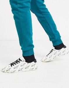 """Белые кроссовки с принтом """"dark future"""" ASOS DESIGN-Белый"""