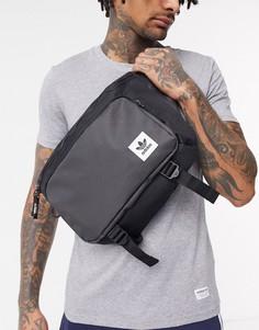 Черная сумка-кошелек на пояс adidas Originals-Черный