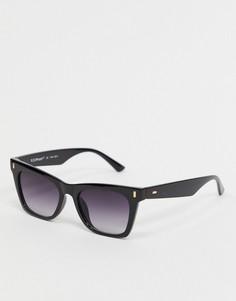 """Черные солнцезащитные очки """"кошачий глаз"""" AJ Morgan-Черный"""