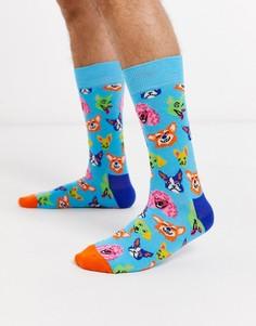 Носки Happy Socks-Синий