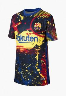 Футболка спортивная Nike FCB Y NK DRY TOP SS PM