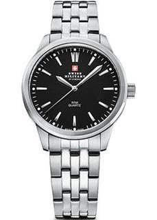Швейцарские наручные женские часы Swiss military SMP36010.01. Коллекция Classic