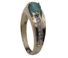 Золотое кольцо 32K640084 Ювелирное изделие