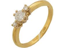 Золотое кольцо 01K682745 Ювелирное изделие