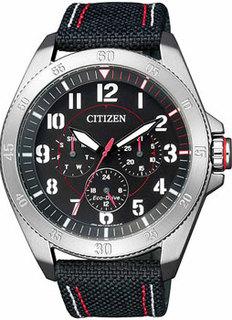 Японские наручные мужские часы Citizen BU2030-17E. Коллекция Eco-Drive