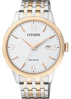 Японские наручные мужские часы Citizen BM7304-59A. Коллекция Eco-Drive