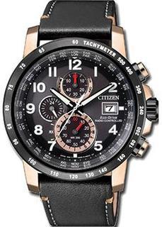 Японские наручные мужские часы Citizen AT8126-02E. Коллекция Eco-Drive