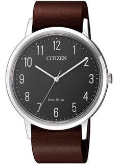 Японские наручные мужские часы Citizen BJ6501-01E. Коллекция Eco-Drive