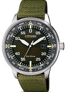 Японские наручные мужские часы Citizen BM7390-22X. Коллекция Eco-Drive
