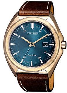Японские наручные мужские часы Citizen AW1573-11L. Коллекция Eco-Drive