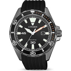 Японские наручные мужские часы Citizen BM7455-11E. Коллекция Eco-Drive