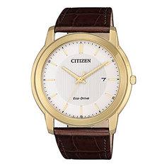 Японские наручные мужские часы Citizen AW1212-10A. Коллекция Eco-Drive