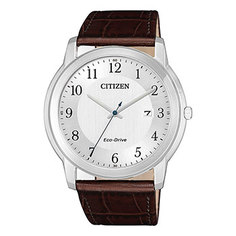 Японские наручные мужские часы Citizen AW1211-12A. Коллекция Eco-Drive