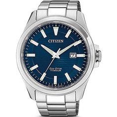 Японские наручные мужские часы Citizen BM7470-84L. Коллекция Titanium