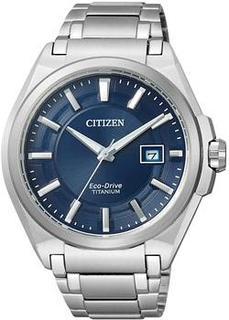 Японские наручные мужские часы Citizen BM6930-57M. Коллекция Titanium