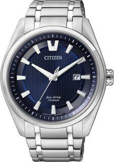 Японские наручные мужские часы Citizen AW1240-57L. Коллекция Super Titanium