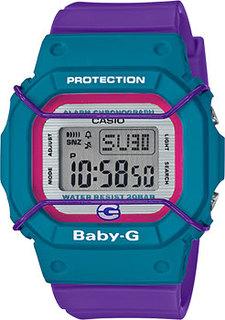 Японские наручные женские часы Casio BGD-525F-6ER. Коллекция Baby-G