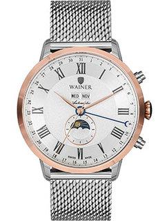 Швейцарские наручные мужские часы Wainer WA.25045B. Коллекция Masters Edition
