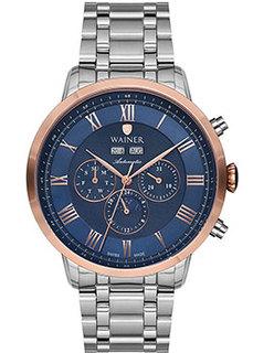 Швейцарские наручные мужские часы Wainer WA.25065A. Коллекция Masters Edition