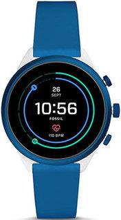 fashion наручные мужские часы Fossil FTW6051. Коллекция Sport Smartwatch