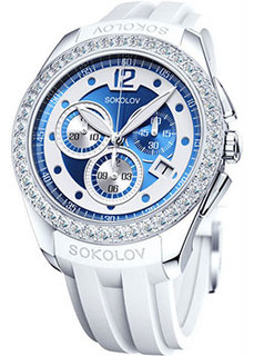 fashion наручные женские часы Sokolov 149.30.00.001.05.06.2. Коллекция Gran Turismo