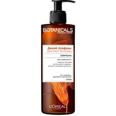 """LORÉAL PARIS Шампунь для волос """"Botanicals Дикий Шафран"""", для сухих волос, питательный, без парабенов, силиконов и красителей"""