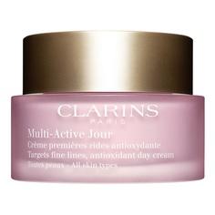CLARINS Дневной крем для предотвращения первых возрастных изменений с антиоксидантным действием для любого типа кожи MULTI-ACTIVE