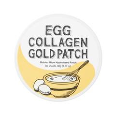 TOO COOL FOR SCHOOL Патчи гелевые для глаз с коллагеном и яичным экстрактом